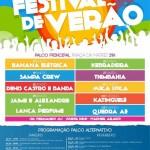Programação Festival de Verão 2013 Socorro-SP