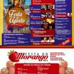 Socorro tem Festa da Padroeira e Festa do Morango agora em agosto
