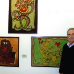 Socorrense expõe suas obras em Campinas