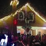 Presépio e Casa do Papai Noel foram abertos ao público