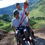 Socorro oferece esportes de aventura para pessoas com deficiência